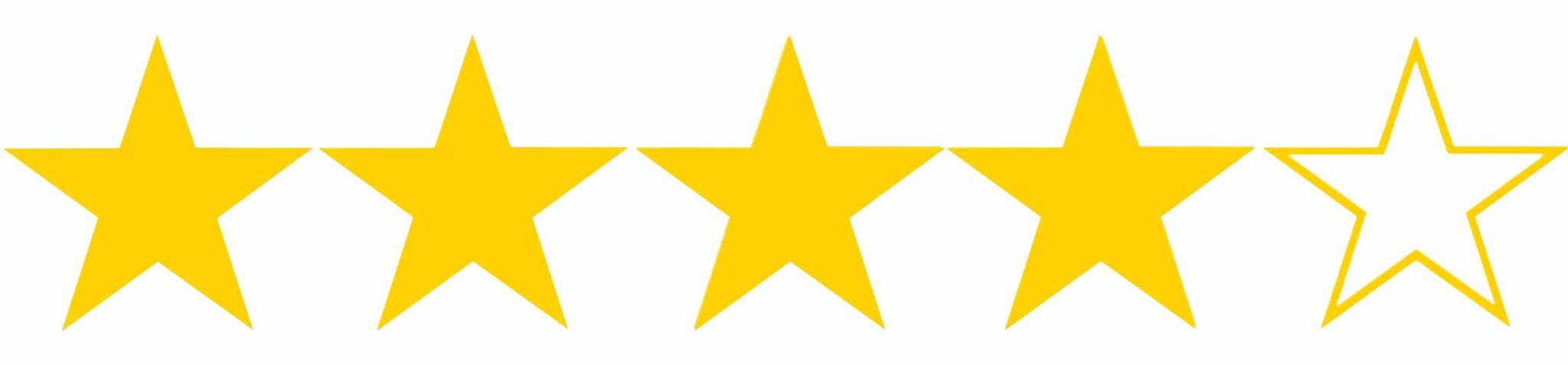 How many stars